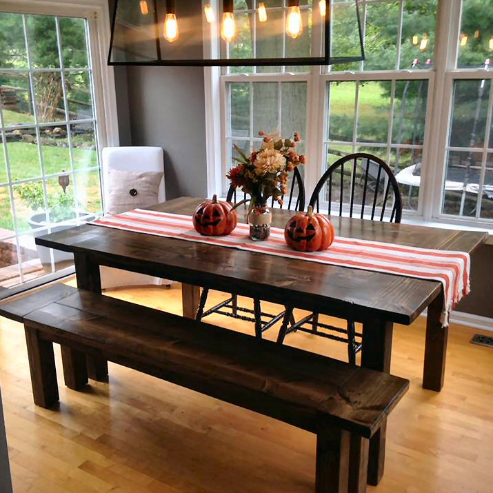 Fall 2018 Rustic Farm House Table Collection