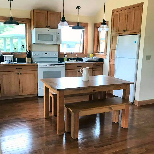 Kitchen farm table pennsylvania kw rustic designs kitchen farm table pennsylvania workwithnaturefo