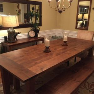 Rustic Farm Dining Room Table