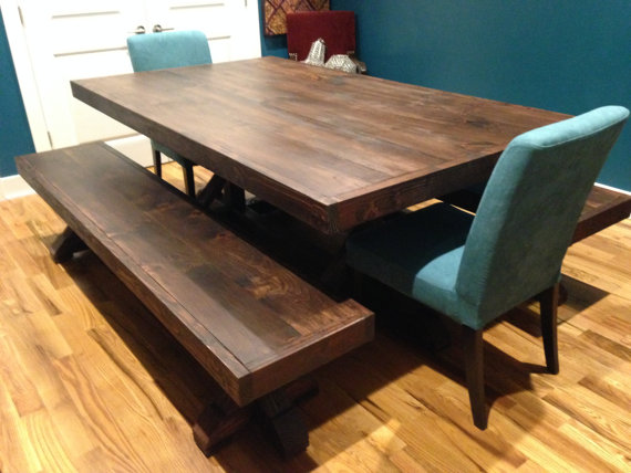 Rustic Farm Table Dining Room Table